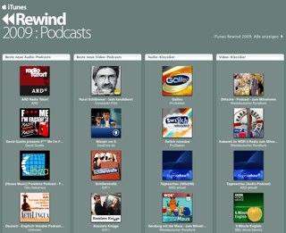 iTunes Rewind 2009 DE